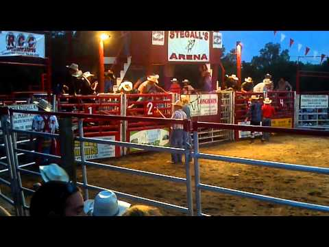 Travis Hicks stegall's rodeo