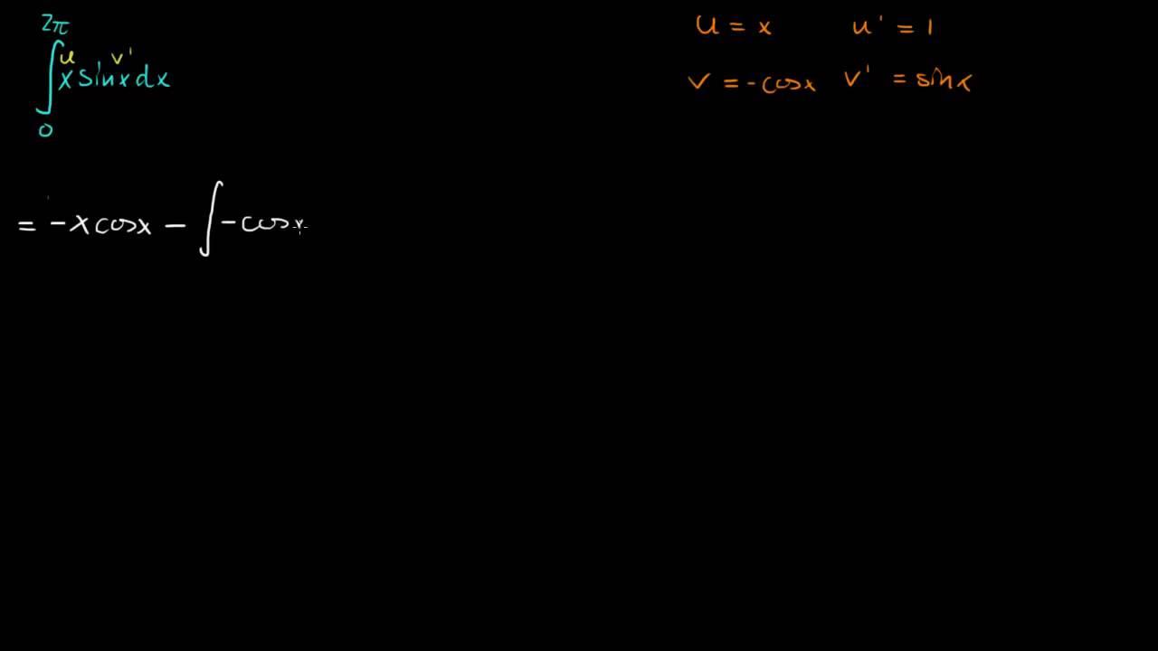 7.4 - Bestemte integraler 1 - Bestemt med delvis, to metoder (R2)