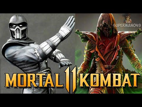 Mortal Kombat 11: Noob Saibot & Ermac Teased? Klassic Kano & Mystery Character! (Mortal Kombat 11) thumbnail