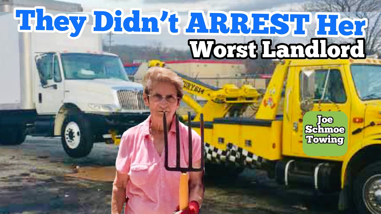 CAN'T BELIEVE THEY DIDN'T ARREST HER ... Cops Called On Landlord / Landlord vs Tenant