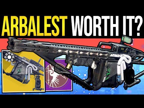 Destiny 2 | Is ARBALEST Worth The Grind? - New Exotic Weapon, Gameplay & Review (The Revelry) thumbnail