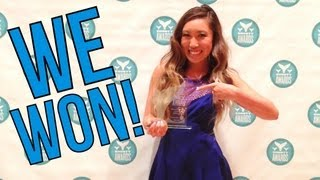 I Squatted in a Dress - How a Shorty Award #SocialFitness Winner Accepts her Award