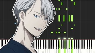 Yuri On Ice Opening History Maker Piano Tutorial