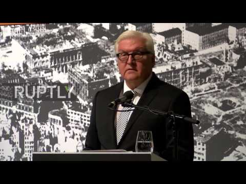 Germany: Steinmeier opens exhibit on Nazi Germany's 'forgotten' Soviet Union holocaust