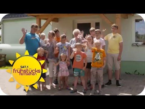 Ist HARTZ 4 für eine 13-köpfige FAMILIE SOZIAL gerecht? | SAT.1 Frühstücksfernsehen | TV