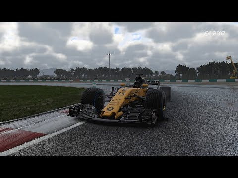 F1 2017 Karriere #154 - Malaysia Sepang Training - Upgrade Frontabtrieb - Renault Saison 2