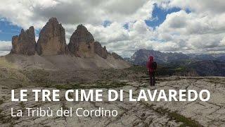 Giro delle Tre Cime di Lavaredo - Tribe Treks #14 con il drone