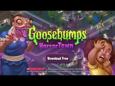 Goosebumps Horrortown - Gameplay Trailer for iOS & Android (Now Available)