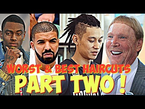 *PART TWO* CELEBRITIES & ATHLETES W/ THE WORST & BEST HAIRCUTS !