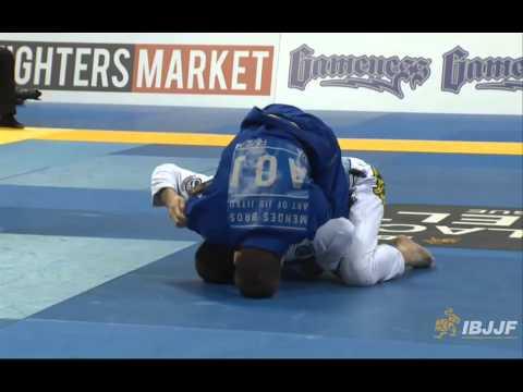 Rafael Mendes v Gianni Grippo - 2014 IBJJF Worlds Black Belt Featherweight Quarter-Final