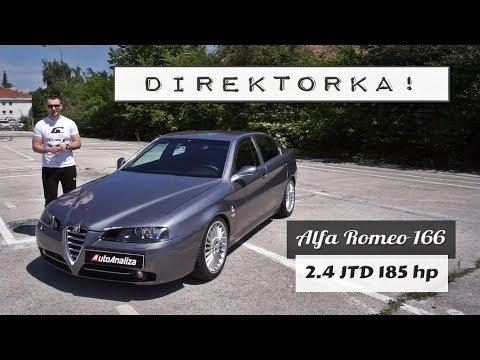 Test: Alfa Romeo 166 - Za Direktora Koji Pored Lepe Sekratarice, Voli I Lep Auto!