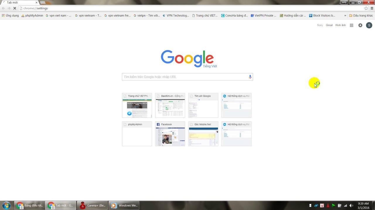 Hướng dẫn thay đổi Proxy trên Google Chrome, IE hoặc IDM