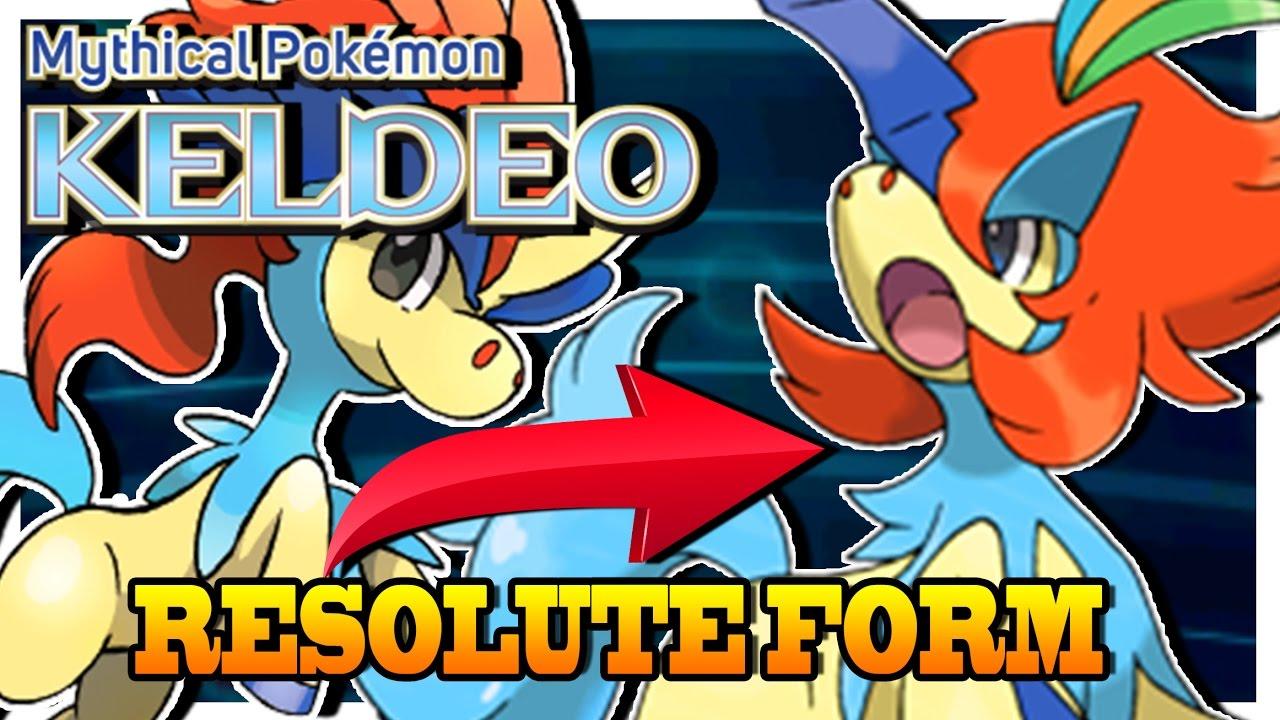 Keldeo Resolute form - How to Get in X&Y ORAS - YouTube