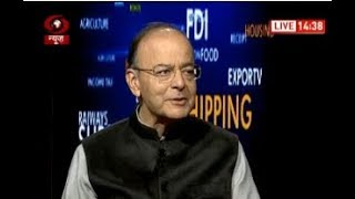 NewIndiaBudget : FM Arun Jaitley speaks exclusively with DD News on Budget 2018