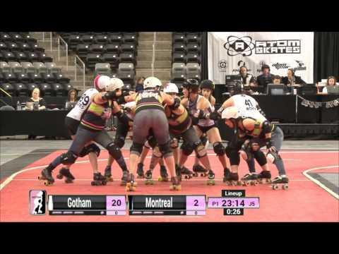 Game 9: Gotham Girls Roller Derby v Montreal Roller Derby