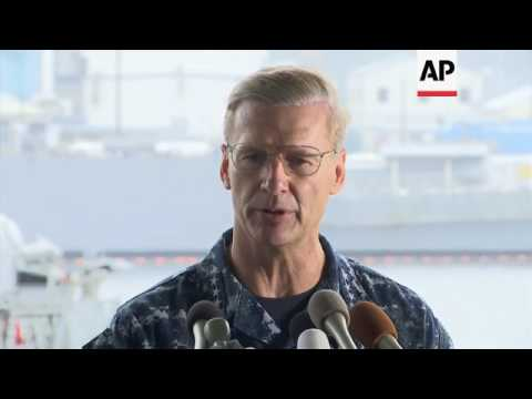 US Navy will launch investigation into collision