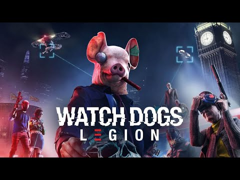 WATCH DOGS LEGIONS - Kwing the Hacker Or Wrench Man? (PS4 Pro)