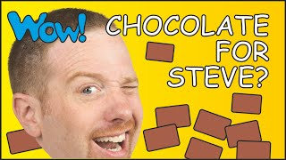 Chocolate for Steve   Surprise for Maggie   English for Kids   Learn English speaking