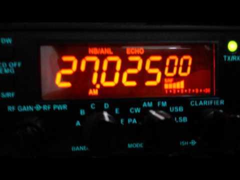 Propagação aberta teste do meu novo radio