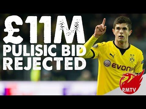 £11m Pulisic Bid Rejected | LFC Daily News