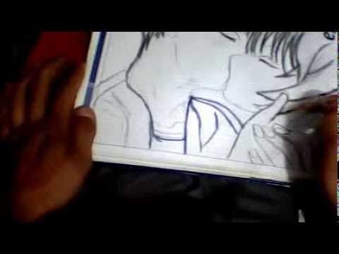 dibujando beso manga - YouTube