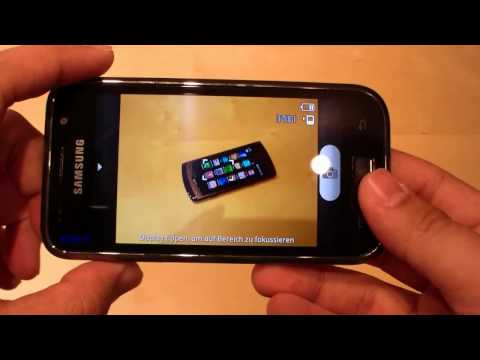 Samsung Galaxy S I9000 Unboxing & Hands On - German