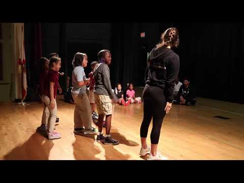 Ballet Hispanico Workshop at Robert Russa Moton Elementary School