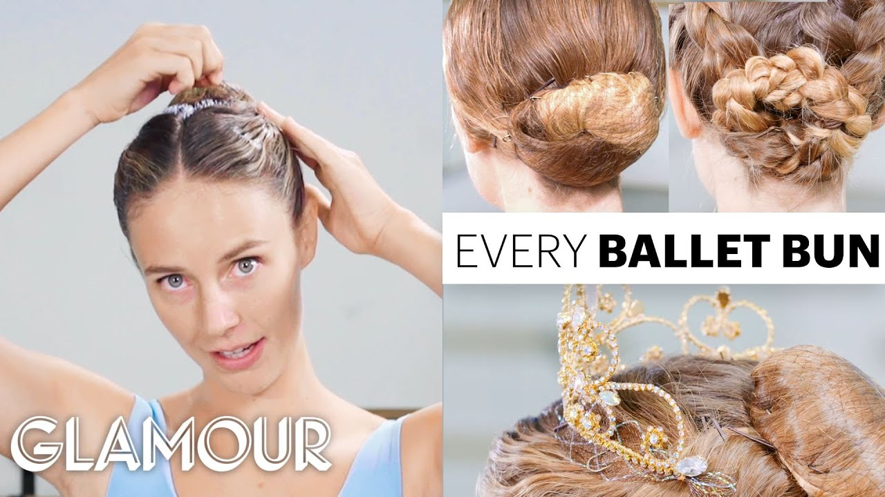 Every Ballet Bun With Pro Ballerina Scout Forsythe | On Pointe | Glamour
