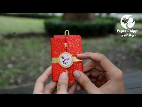 Cách làm Thiệp Chúc Tết 2017 Đinh Dậu đẹp nhất