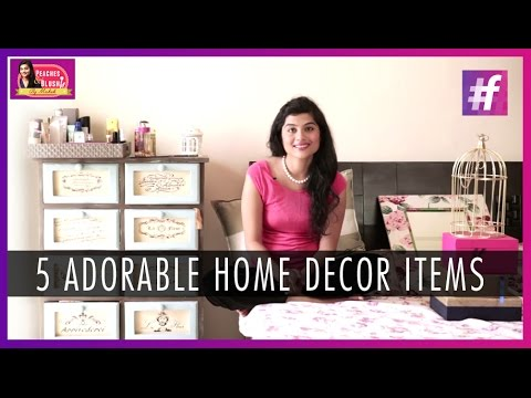 5 Adorable Home Decor Items To Liven Up Your Bedroom By