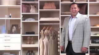 Custom Closet Systems - Interchangeable Options