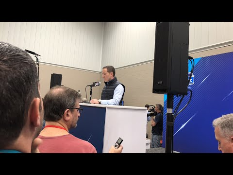 Howard Roseman Philadelphia Eagles GM Livestream At NFL Combine