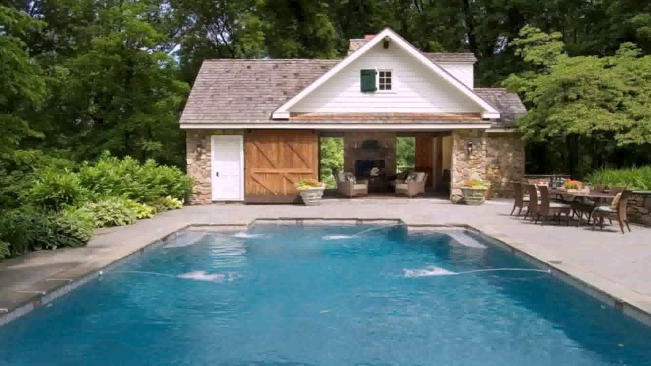 pool house floor plan ideas - youtube