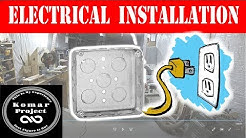 How To Install Electrical From Start to Finish !! Basement Renovation (DIY)