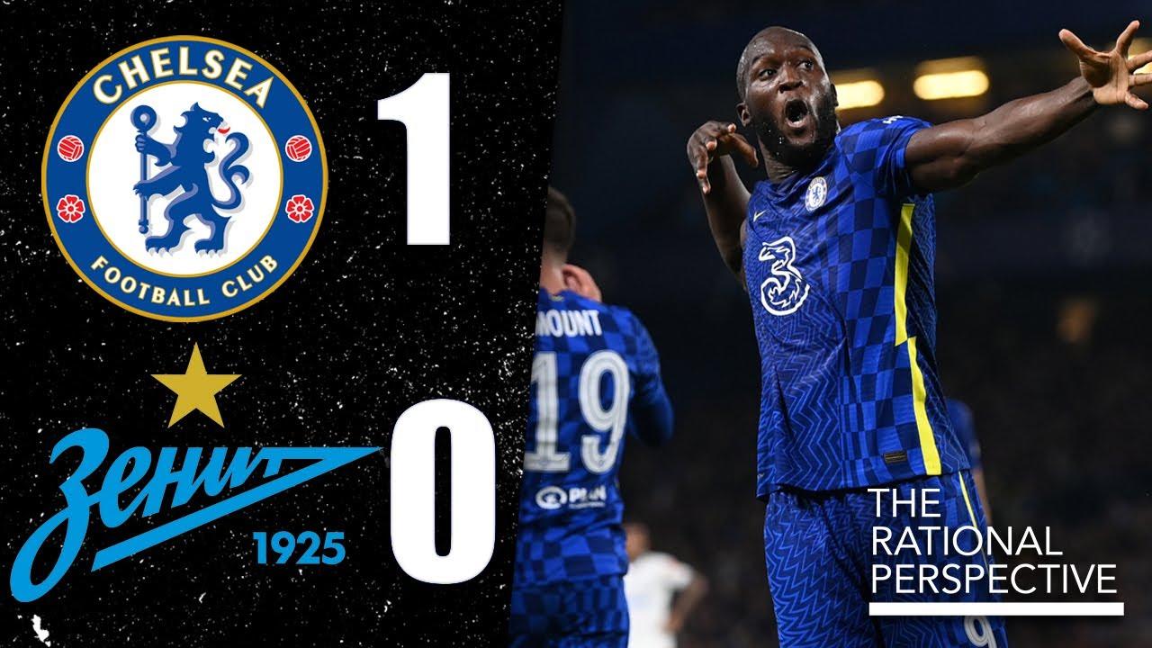 LUKAKU SAVES CHELSEA! Rudiger BEST CB in Europe? Chelsea 1-0 Zenit UCL Review