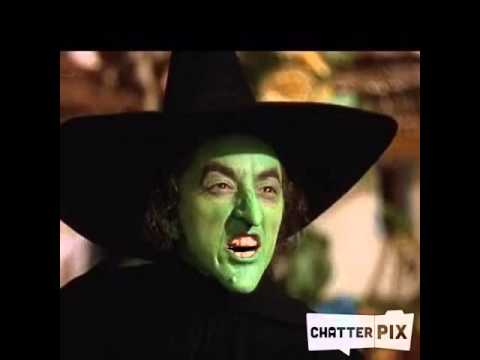My wicked witch laugh