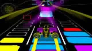 [Audiosurf] Hajimete Kimi to Shabetta by gagagaSP ( Naruto ED song 8)