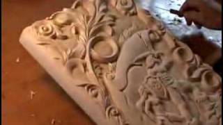 Резьба по дереву(Видео резьбы по дереву компании МосРезьба http://mosrezba.ru/, 2009-07-10T15:29:54.000Z)