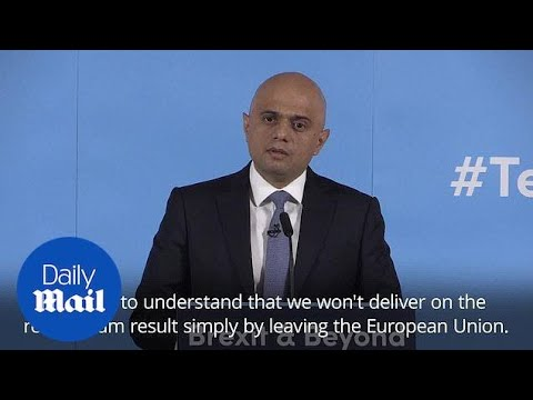 Sajid Javid Launches Conservative Leadership Bid