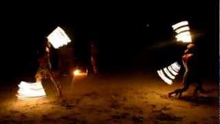 Шоу огня на острове Ко Чанг в Тайланде(декабрь 2012 года., 2013-01-14T12:38:48.000Z)