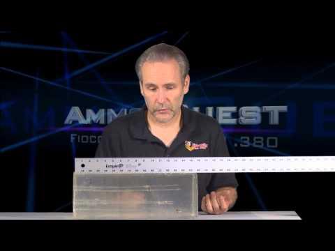 Ammo Quest: Fiocchi Extrema .380 ACP test in Taurus TCP 738 and ClearBallistics gelatin