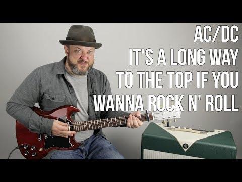 AC/DC - It's a Long Way To The Top (If You Wanna Rock n' Roll) Guitar Lesson