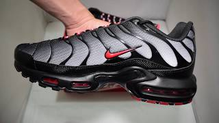 Nike Air Max TN Grey / Red Unboxing