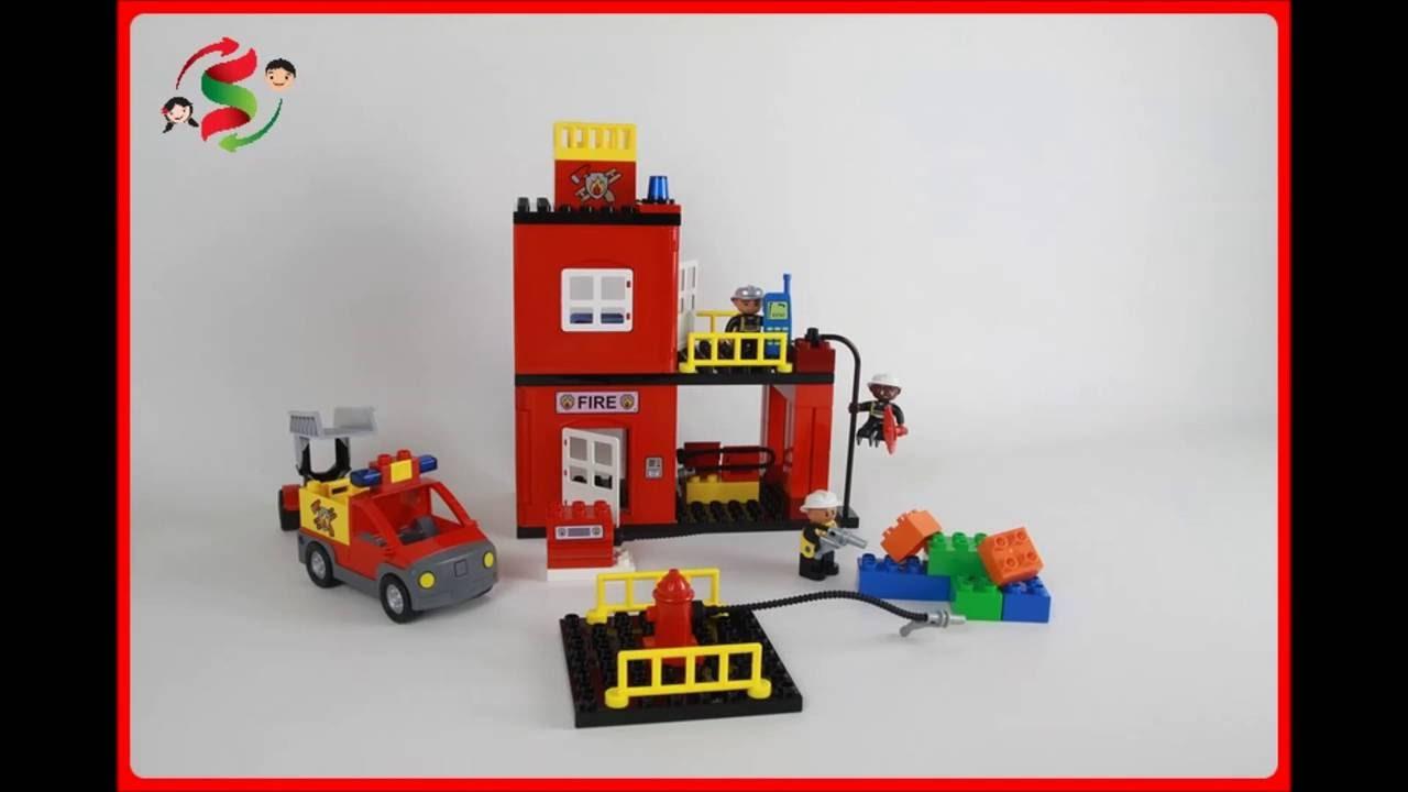 Lego Duplo Fire Station 4664 3 Youtube