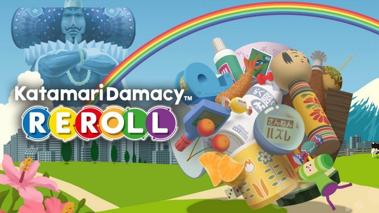 Download] katamari damacy reroll (dl pc) casual roll-em-up.