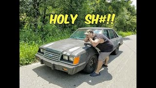 its ALIVE!!! First Official Test Drive in The 5.0 Swapped Fox Body Ford LTD