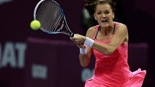 2016 Qatar Total Open Quarterfinal | Agnieszka Radwanska vs Roberta Vinci | WTA Highlights
