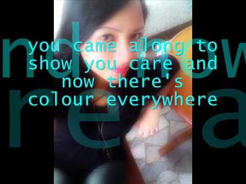 Colour everywhere w/Lyrics