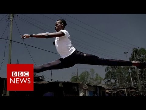 Dancing in the slums: Kenya's rising ballet star - BBC News