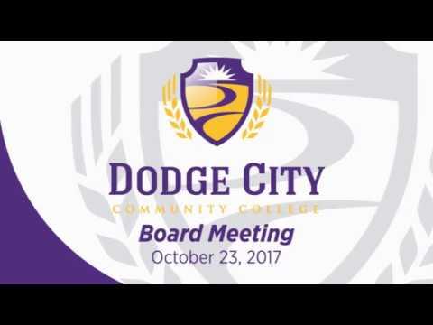 DC3 Board of Trustees October 2017 Board Meeting